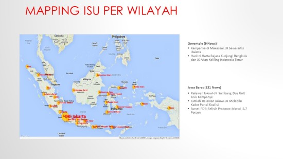 Mapping Isu per Wilayah